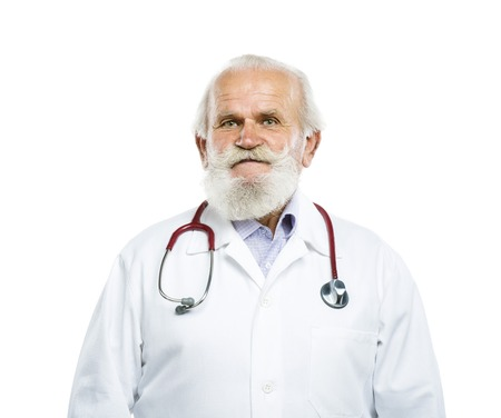 medicalcare: Old man Stock Photo