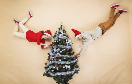 Funny Christmas Stock Photo