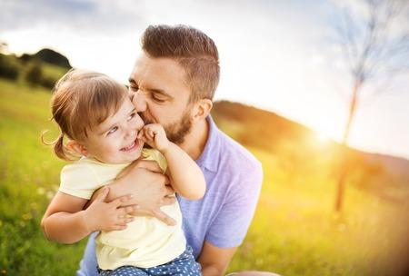 papa: Famille dans la nature