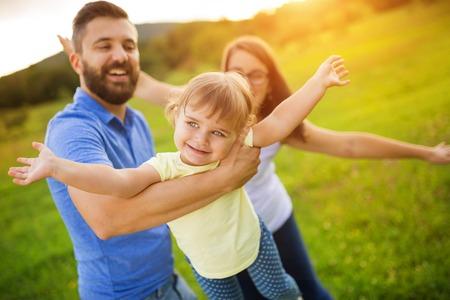 famille: Famille dans la nature