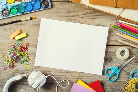 papel artesanal: Mesa de despacho