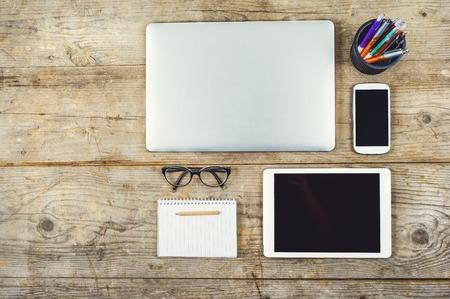 on the desk: Creative Desk
