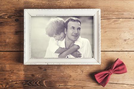 lazo regalo: Padre e hijo foto