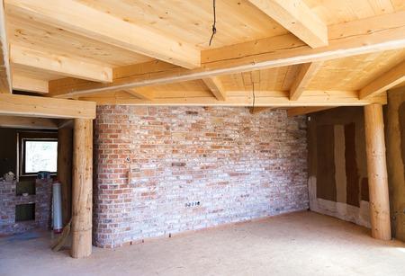 befejezetlen: Unfinished house Stock fotó