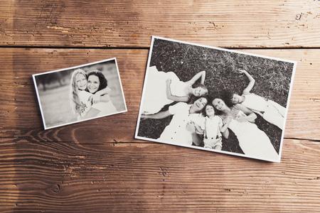 Fotos de familia Foto de archivo - 47049528