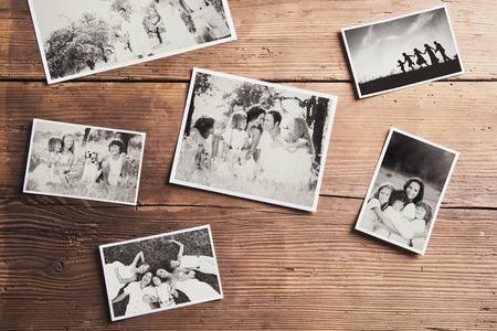 Family photos Stock Photo