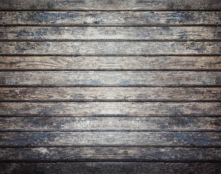 Oude donkere houten bord achtergrond, plank met textuur, lege kopie ruimte Stockfoto