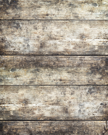 wood floor: Old stained wooden board background, plank with texture, empty copy space
