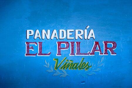 Vinales, Cuba - March 26 2019: Panaderia, UNESCO, Vinales, Pinar del Rio Province, Cuba, West Indies, Caribbean, Central America