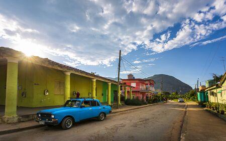 Vinales, Cuba - March 26 2019: UNESCO, Vinales, Pinar del Rio Province, Cuba, West Indies, Caribbean, Central America