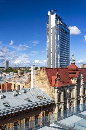 Riga's skyline, Riga, Latvia Baltic States Europe