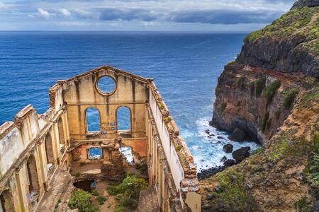 Stary budynek pomp o nazwie Casa del agua na Teneryfie, Wyspy Kanaryjskie, Hiszpania, Europa