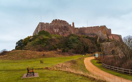 Mont Orgueil Castle, Jersey, Channel Islands, United Kingdom Europe
