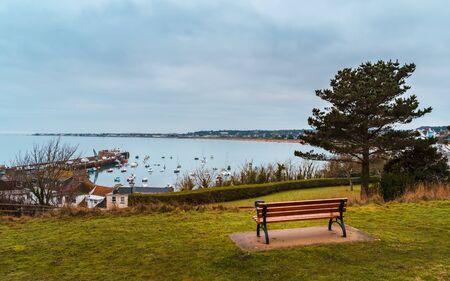 Mont Orgueil harbour, Jersey, Channel Islands, United Kingdom Europe