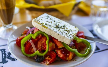 Greek Salad, Crete, Greek Islands Greece Europe