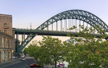 Newcastle, England - June 27 2018: Tyne Bridge, Newcastle England United Kingdom Europe