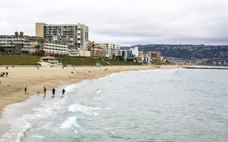 Los Angeles, USA - May 31 2018: Redondo Beach, California, United States of America, North America