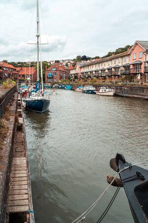 BRISTOL, ENGLAND - JULY 21, 2019: Bristol Harbour Festival in Bristol, United Kingdom Europe