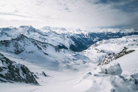 La Plagne ski resort, French Alps, Tarentaise, France, Europe