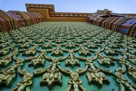 Amazing Wat Mahathat Watchiramongkhon or Wat Bang Thong in Krabi, Thailand, South East Asia
