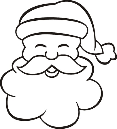 coloring Santa claus Stock Vector - 16941400