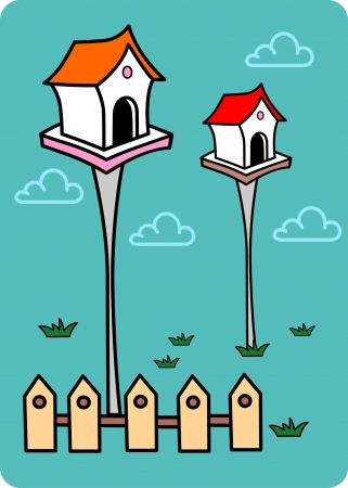 mating: Birdhouses