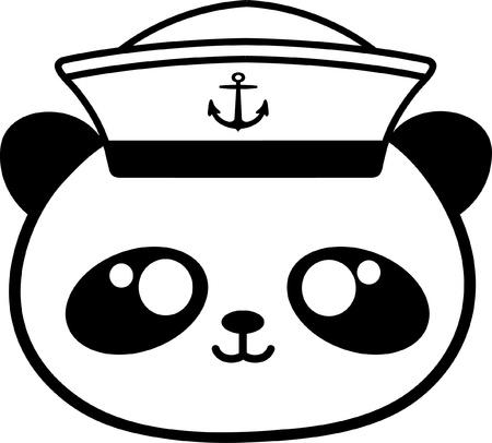 Sailor,Teddy bear Illustration