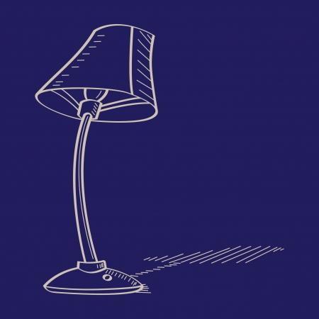 lamp shade:  lamp shade vector illustration