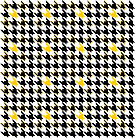 houndstooth pattern that tiles seamlessly as a pattern.  Vector