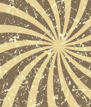 Retro vintage grunge hypnotic background