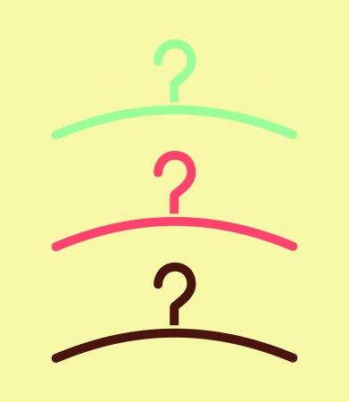 Hanger - Vector icon