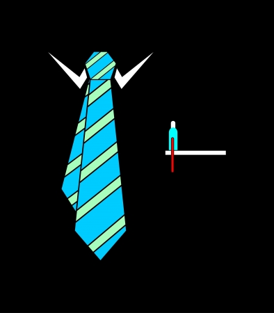 Tie vector illustration  Vector