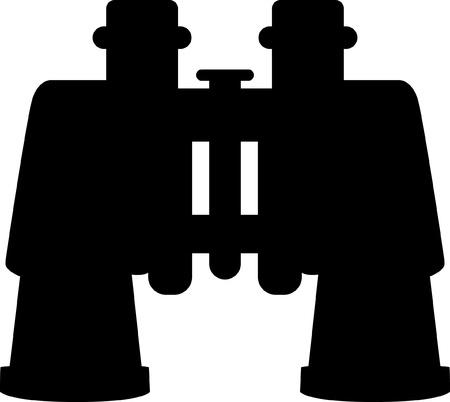Vector Binoculars   Stock Vector - 19051207