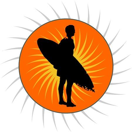 surf vecteur. vecteur signes de surf Vecteurs