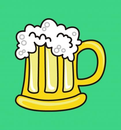 oktober:  Beer mug