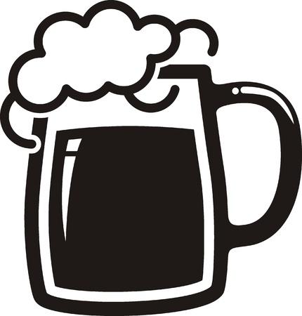 beer froth:  Beer mug
