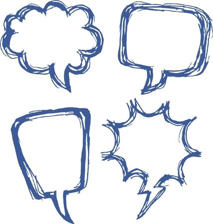 crunches: comic speech bubbles