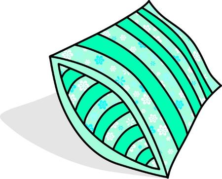 vector de almohada