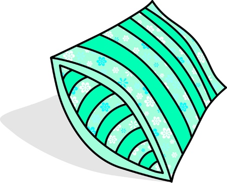 vector of pillow