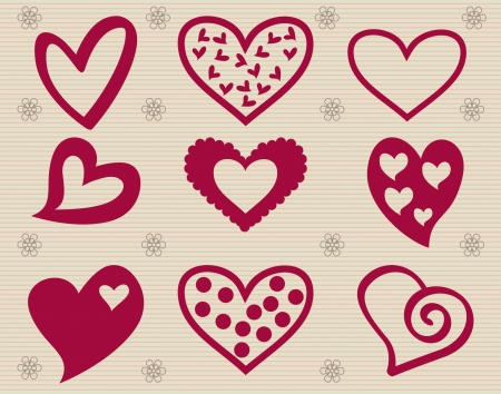 Valentine s day  elements collection  Stock Vector - 22198467