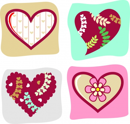 Valentine s day  elements collection Stock Vector - 22198465