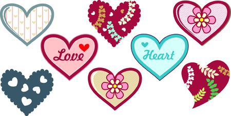 Valentine s day  elements collection  Vector