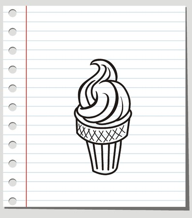 softcream: vector ice cream Illustration