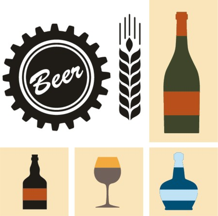 Beer icon vector collection  Vector