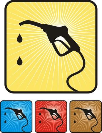 Gas pump vector illustration  Illustration