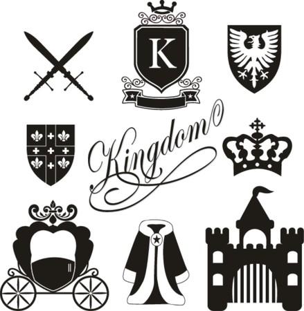 kingdom icon vector  Vector