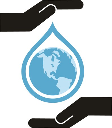 save water vector illustration  Vector