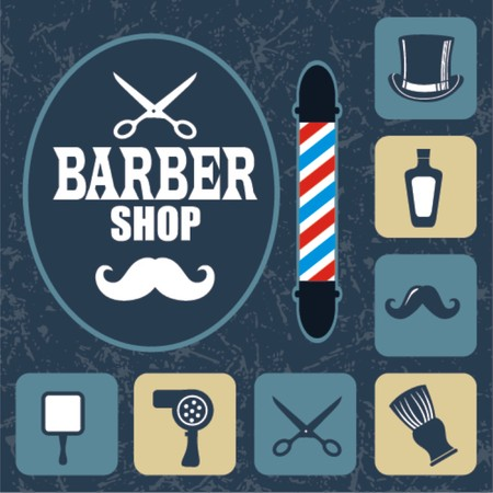 barber scissors: Barber shop