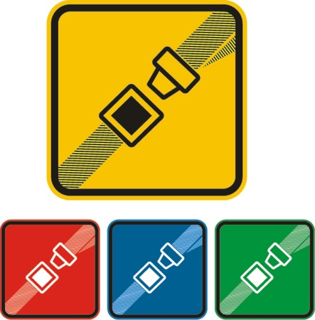 ilustrations: security belt, vector  Illustration