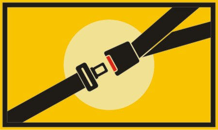 security belt, vector  Illustration